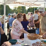 The second annual Empty Bowls event drew a crowd of more than 100 attendees.