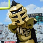 UCF's Knightro holds mascot dance-off challenge