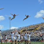 Photos: Spirit teams at UCF vs. Houston game