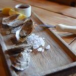 Shucking an oyster
