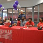 Pineville's Joseph signs to Cajuns' track as more area athletes sign to colleges