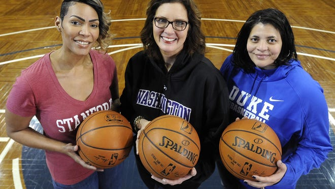 For Olympia Scott, Amy Mickelson Brecht and Lillie Brown, basketball has been a big part of their lives.