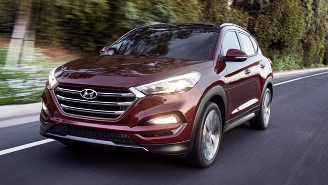 The front end got special attention in the redesign of the Tucson.