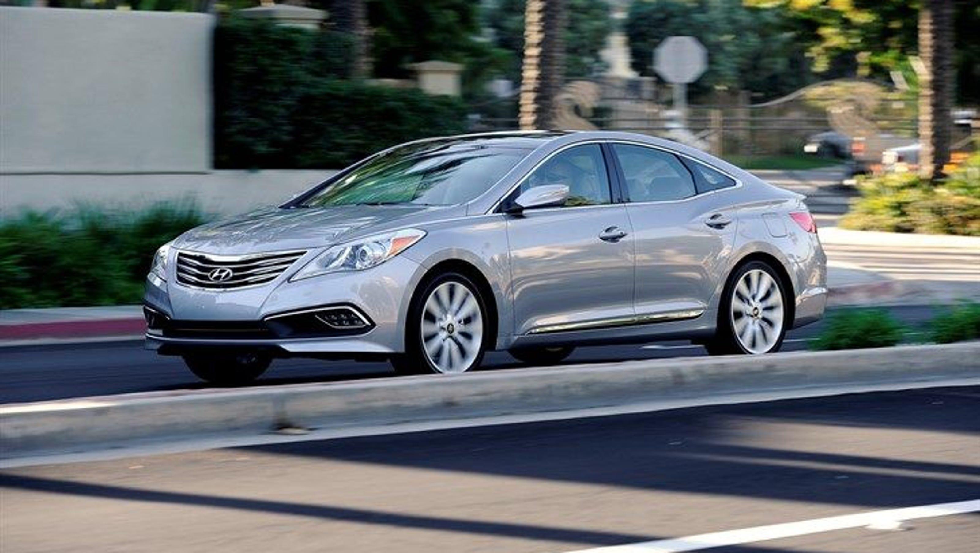 Hyundai Kills Azera Sedan For U S Car Market