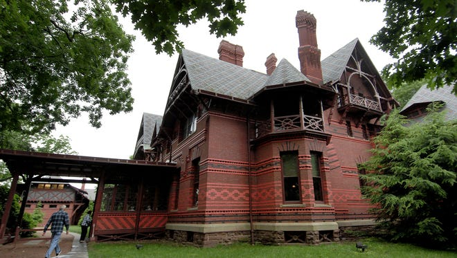 The Mark Twain House and Museum in Hartford, Conn., is where Twain, a.k.a. Samuel Clemens, raised his family.