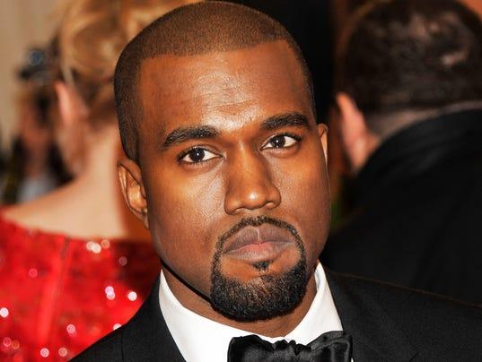 AP Kanye West-Scuffle