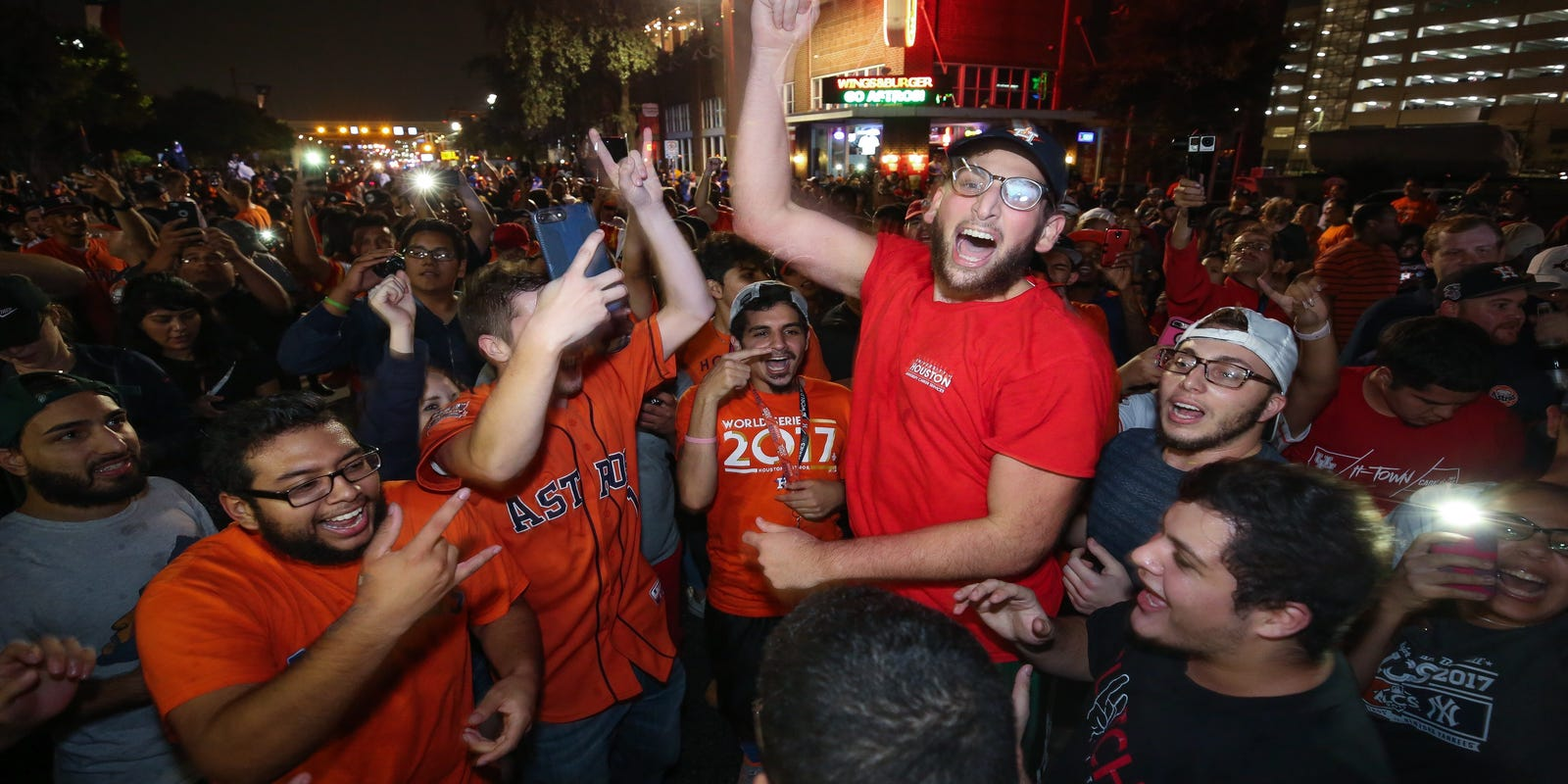 Houston Strong: Astros deliver first World Series title to post-hurricane  Houston