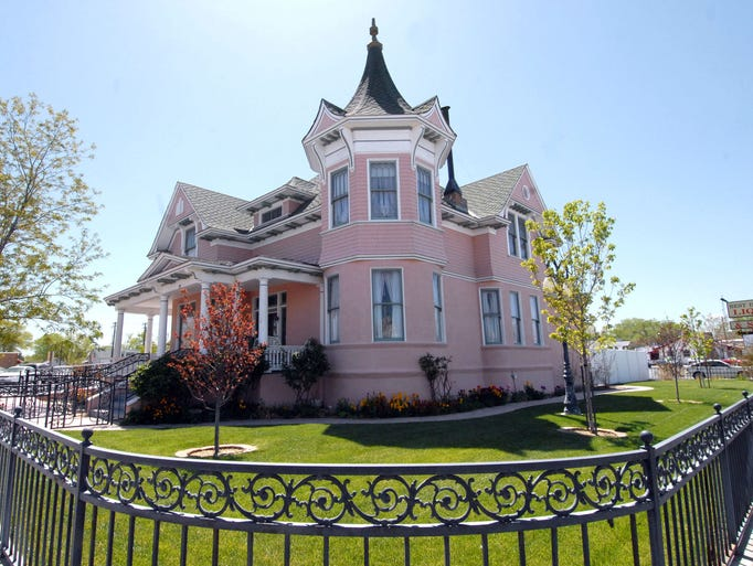 The Douglass Mansion in downtown Fallon wasbuilt in 1904.  It was the only two story victorian residence in Fallon.  In the 1920s, A R. F.F. Nichols owned the property and built a hospital behind it.