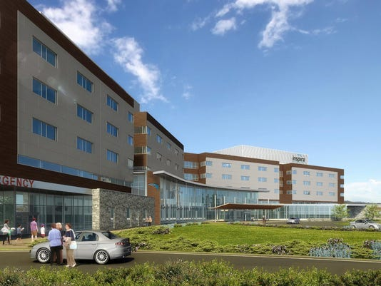 OUTDATED DRAWING OF Inspira Medical Center Mullica Hill