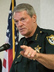 Escambia County Sheriff David Morgan, describes the