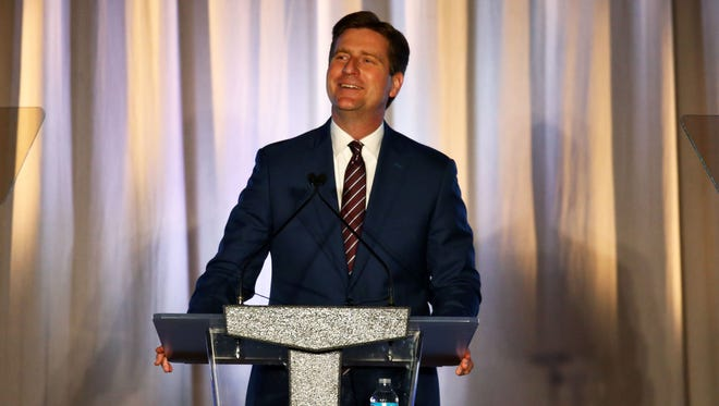 TOP OFFICIAL: Governing Magazine named Phoenix Mayor Greg Stanton among the top public officials in the country in November 2017.