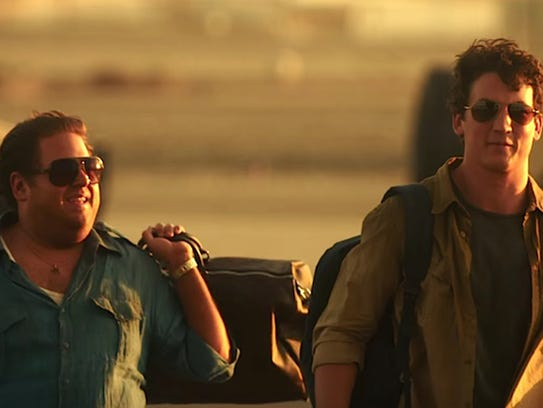 "Jonah Hill and Miles Teller in ""War Dogs."" The movie"