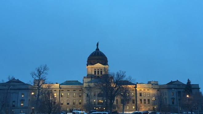 The Montana Capitol on Tuesday.