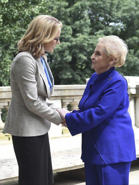 'Madam Secretary' gets real with Albright cameo