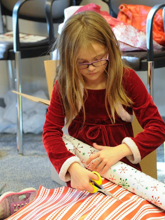 former foster child family help teens receive presents