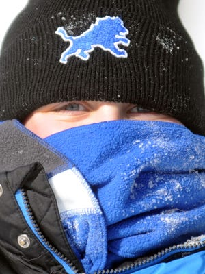 Dangerous wind chill could be as low as -25.