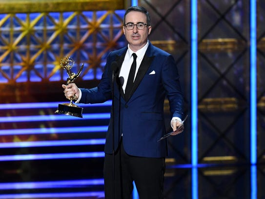 'Last Week Tonight With John Oliver' took home two