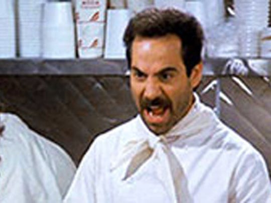 Larry Thomas, the actor who played the soup Nazi on the hit show Seinfeld, will be at the Roseville Kroger store.