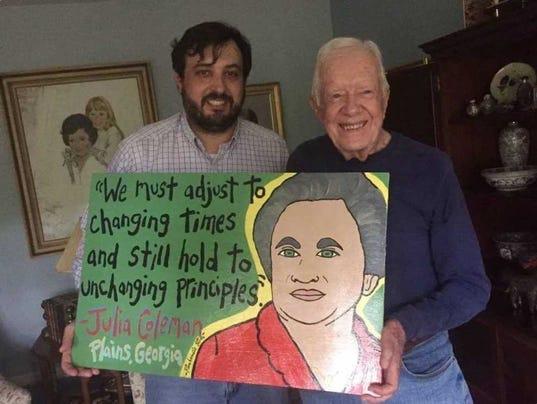 Folk artist Panhandle Slim will have pop-up art sale in Pensacola on  Thursday
