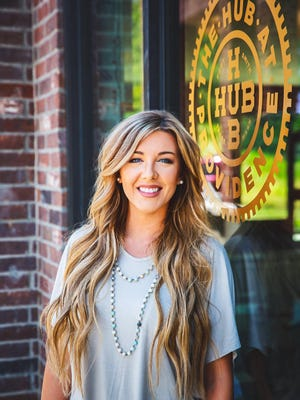 Samantha Sims, owner of Salon Savvy at the HUB, is expected to open her business at a new Chaffee Crossing development in September.