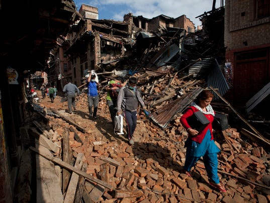 AP NEPAL EARTHQUAKE I NPL