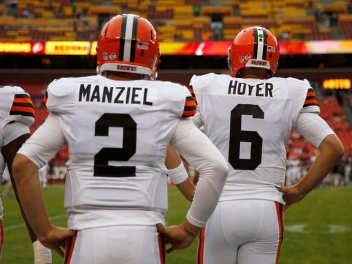 AP Browns Redskins Football