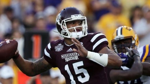 Dak Prescott and the Mississippi State Bulldogs didn't close out last season nearly as hot as it started it.