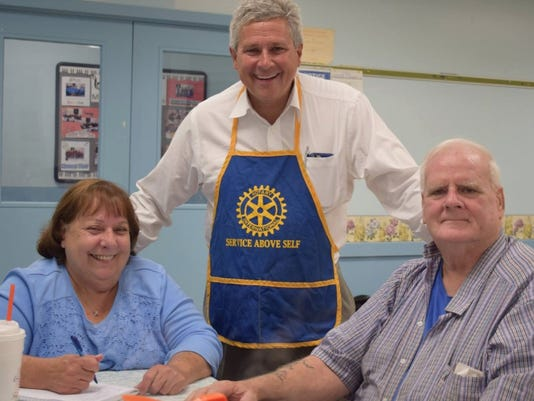 The Rotary Club of Branchburg sails with SHIP PHOTO CAPTION