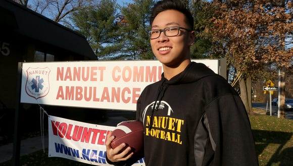 Rockland Scholar Athlete of the Week Benjamin Chun,