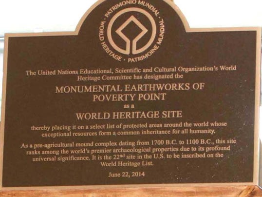 Poverty Point State Historic Site becomes Poverty Point World Heritage ...
