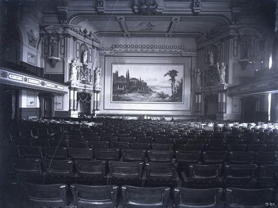 The second Pike's Opera House was renowned for its palatial interior. It was destroyed in a fire on Feb. 26, 1903.