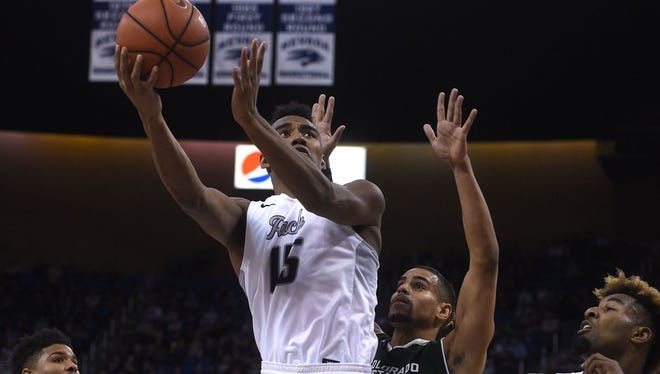D.J. Fenner and the Wolf Pack look to capture the Mountain West Tournament title in Las Vegas this week.