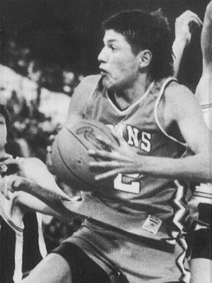 Elvis Old Bull led Lodge Grass to three consecutive state titles and earned three MVP awards from 1988-1990.