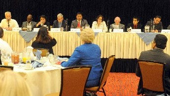 The Oxnard Chamber of Commerce hosted a candidates forum in 2013 for the special election.