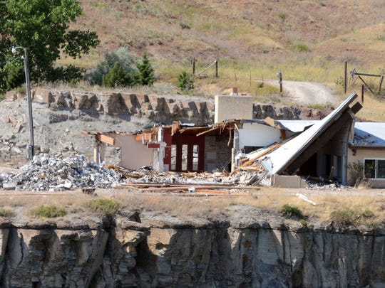 The Lewis and Clark Foundation recently announced the completion of demolition on the former Wilhelm home on the north bank of the Missouri River between Black Eagle and Morony Dams.