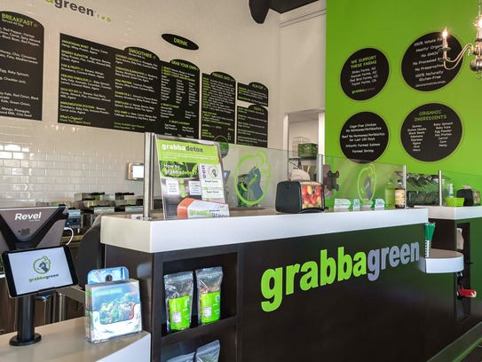 Grabbagreen's newest location opened at the Rivulon