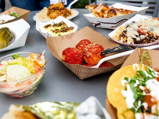More than 300 menu items are available at Taste of