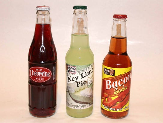 Cheerwine, Melba's Fixins Key Lime Pie and Lester's