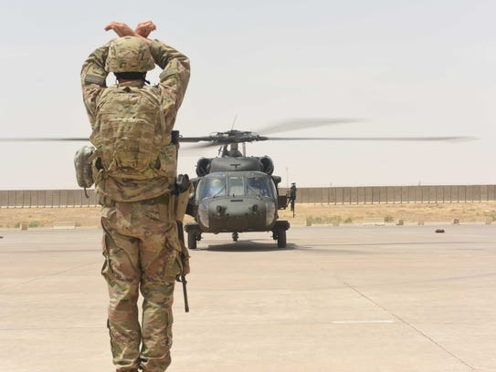 Tech. Sgt. Joseph Tenebruso, the 370th Air Expeditionary