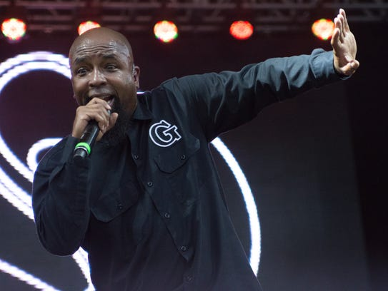 Tech N9ne performed on the main stage at 515 Alive,