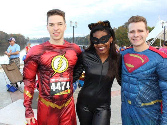 """Super Heroes"" from left: Ben Lang, Jalea Brooks and"