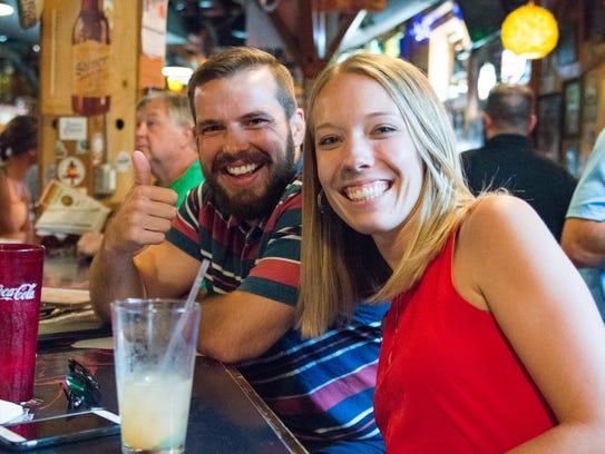 El Bait Shop has 222 beers on tap and a lengthy food menu.