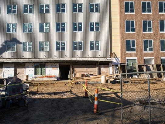 January 31, 2018 - The South Main Artspace Lofts in