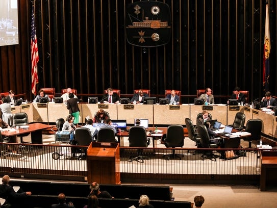 February 06, 2018 - The Memphis City Council voted