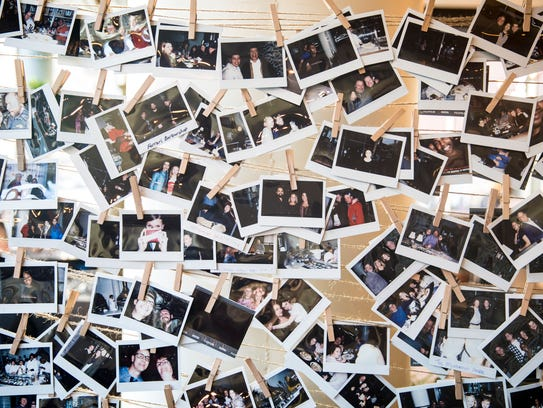 MidiCi guests can take a photo and hang it in the restaurant. The owners want the restaurant to be a place where friends gather and tell each other about their lives.