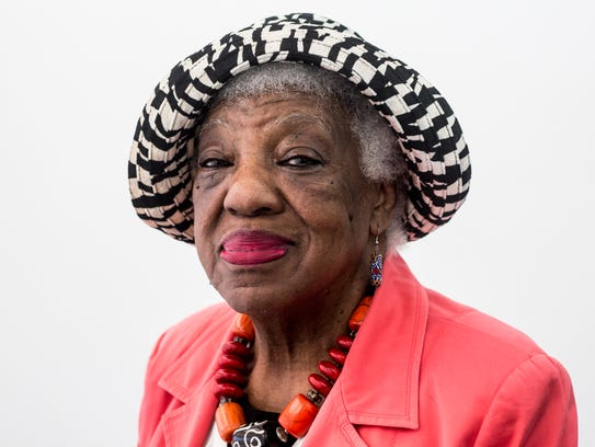 March 31, 2018 - Mary Mitchell, a longtime Orange Mound