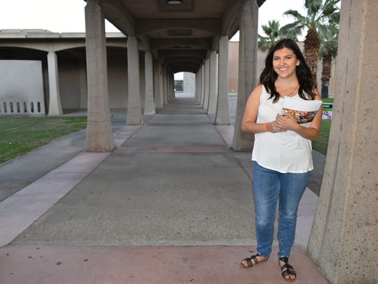 plEDGE student Viviana Dominguez says she's grateful