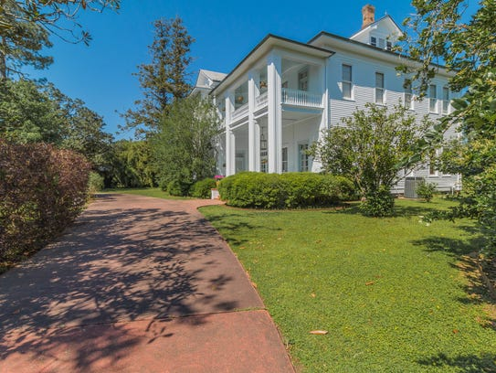 The estate sits on almost 3 acres in the middle of