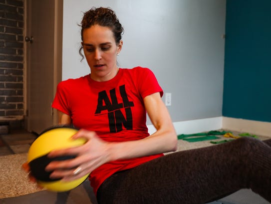 """Gwen Jorgensen is """"all in"""" in her pursuit of Olympic"""
