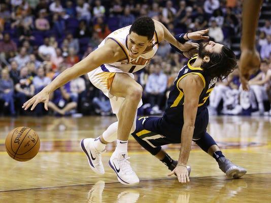 Utah Jazz .vs Phoenix Suns 2017